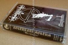 NOKTURNAL MORTUM NECHRIST 1999 RARE UKR ORIGINAL TAPE CASSETTE BLACK METAL