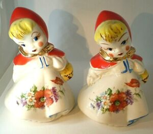 Hull Little Red Riding Hood salt and pepper shakers very nice condition