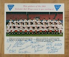 1968 Rochester Red Wings Team Photo ORIGINAL