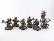 Lord Relictor + 5 x Retributors der Stormcast Eternals - tweilweise gut bemalt -
