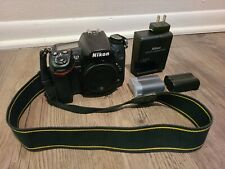 Nikon D7000 16.2 MP Digital SLR Camera - Black (Body Only) w/ two batteries
