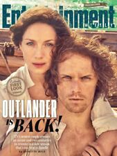 MINT 2017 ENTERTAINMENT WEEKLY B&N EXCLUSIVE OUTLANDER COVER W/ FRASER/BALFE