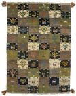 Tribal Design Multicolored Hand-Knotted 2X3 Plush Gabbeh Rug Kids Room Carpet