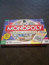 Monopoly Here & Now World Edition Board Game With Electronic Banking
