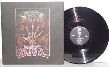 HOUSE OF THE DEVIL LP Deluxe UK Black with Red Splatter Vinyl OST 400 Made 180G
