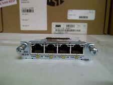 Genuine Cisco HWIC-4ESW 4 Port 10/100 Switch Interface Card 2 year Warranty Real