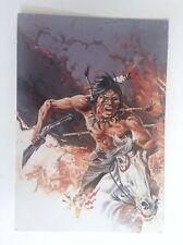 Carte postale Comanche Hermann Greg 1984 ETAT NEUF