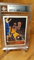 1996-97 Topps #138 Kobe Bryant Los Angeles Lakers RC Rookie HOF BGS 9 Mint 2/9.5