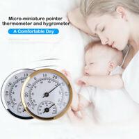 Wandbehang Analoges Thermometer Hygrometer Temperatur Luftfeuchtigkeitsmesser
