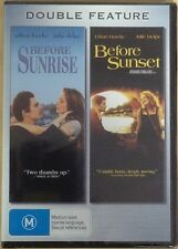 Before Sunrise / Before Sunset * NEW DVD * Ethan Hawke Julie Delpy Linklater
