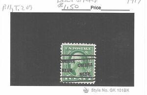 JimbosStamps, U.S .precancels 1917 issue 1 ct. Wash., OMAHA NEBR.. dbl. stk.