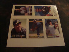 1990 SCD Baseball Card Price Guide---Uncut Sheet---Series 2---Cards 6-10---VHTF