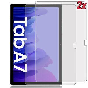 2x 9H Schutzglas Samsung Galaxy Tab A7 10.4 (T500/505) Hartglas Folie Full-Cover