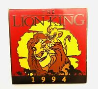 Disney THE LION KING #24 Of 101 Disney Movies Silver Clasp Pin