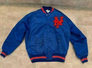 Vintage 70's New York Mets Blue & Orange Jacket Aladen Size Men's L Large