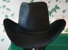 Vintage Miller Brothers Western Hat Black Size 7 Excellent Condition 96b9d4af1a6a