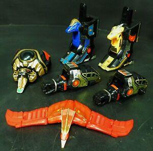 Bandai Mighty Morphin Power Rangers Red Dragon Thunder Megazord Parts