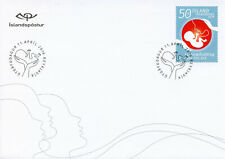 Iceland 2019 FDC Icelandic Midwives Assoc 1v S/A Cover Medical Health Stamps