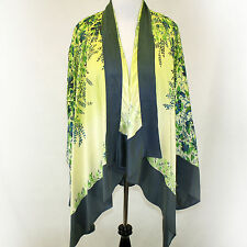 NEW NWT Citron Clothing Plus Size Blooming Gold Garden Open Cardigan Blouse 2X