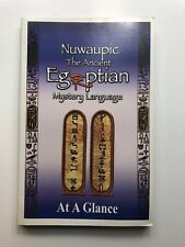 """Dr Malachi Z York- """"Nuwaupic The Ancient Egiptian Mystery Language At A  00004000 Glance�"""