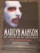 MARILYN MANSUN- Golden Age Of Grotesque- Original Album Promotional Poster*RARE*