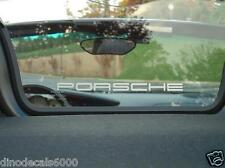 Porsche Boxster Boxster S 986 987 Windscreen Etched Glass Decal