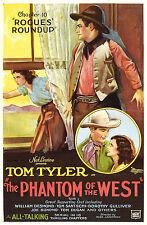 The Phantom of the West - Cliffhanger Serial Movie DVD  Tom Tyler Tom Santschi