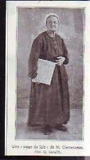 1921  --  MOUILLERON  SOEUR DE LAIT DE CLEMENCEAU