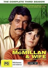 Mcmillan and Wife - The Complete Third Season (3 DVD Set) NEW R4 DVD