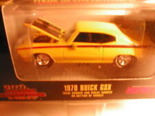 1998 Racing Champions Mint  #180  1970 BUICK GSX yellow