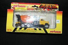 Majorette Super Movers 4500 Series Construction Diecast Set Vintage NEW MIXER A