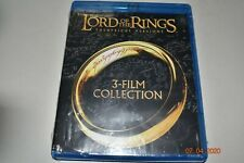 The Lord of the Rings: 3-Film Collection (Blu-ray Disc,Theatrical)