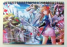 Wall Calendar 2018 (12 sheets A4) Anime Kawaii Girls Manga A-701