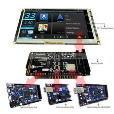 7 Inch Tft Lcd Resistive Touch Ra8875 Shield For Arduino Duemega 2560 Uno