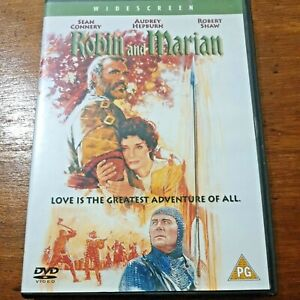 Robin and Marian DVD R2 Like New! – FREE POST