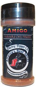 Habanero Chili Pepper Powder Dried Spice Extra Hot Amigo Spice 1.5 oz 1 Bottle