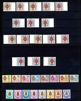 Insel Man P 1/24 ** Portomarken Jahrgang 1973/82 komplett