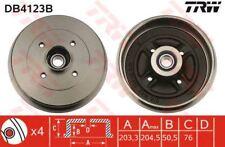 db4123b TRW freno de tambor eje trasero