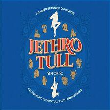 JETHRO TULL 50 FOR 50 3 CD SET (Best Of) (Released 01/06/18)
