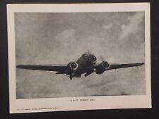 Aviazione Regia Aereonautica militare 1940 WW2  Silurante aereo SM 79 Savoia