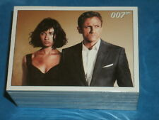 JAMES BOND '007': QUANTUM OF SOLACE Complete 90 Trading Card Base Set Rittenhous