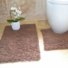 Alfombras de baño alfombras para bañera rectangulares color principal marrón