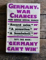 Germany's War Chances by Dr Ivan Lajos 1939 HB Book