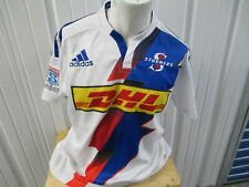 Vintage adidas Dhl Stormers Rugby Union Xl Sewn Jersey 2014 Kit South Africa