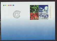 Finland 1997 FDC - 80th Anniv of Independent Finland - with booklet of 4 stamps