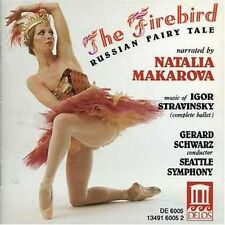 Igor Stravinsky The Firebird Fairy Tale Makarova CD 2005