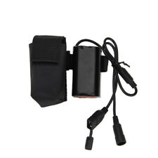 Rechargeable 8.4V 4X18650 USB Battery Pack Pouch For XML-T6 LED Bike Head Lamp