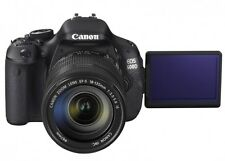 Canon EOS 600d peu d'occasion Kit Objectif 18-55 mm