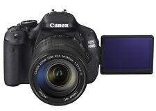 Canon EOS 600d usato poco KIT OBIETTIVO 18-55mm