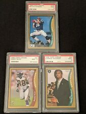 1998 Topps Chrome ROOKIE 🔥PSA 9 LOT🔥 Peyton Manning, Randy Moss, Woodson RC 📈